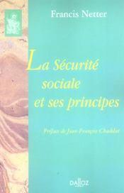 La sécurité sociale et ses principes - Intérieur - Format classique