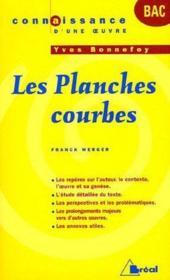Les planches courbes, d'Yves Bonnefoy - Couverture - Format classique
