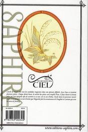 Ciel t.2 - 4ème de couverture - Format classique