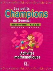 Maternelle 4-5 ans / activites mathematiques - Couverture - Format classique