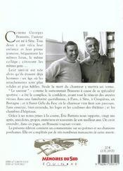 Georges brassens souvenirs - 4ème de couverture - Format classique