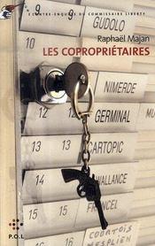 Les copropriétaires ; une contre-enquête du commissaire Liberty - Intérieur - Format classique