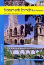 Monuments romains de provence - Couverture - Format classique