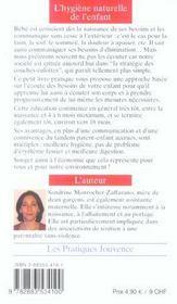 Hygiene naturelle de l'enfant (l') n.104 - 4ème de couverture - Format classique