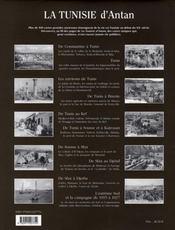 La Tunisie d'antan ; la Tunisie à travers la carte postale ancienne - 4ème de couverture - Format classique