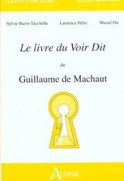 Livre voir dit de guillaume de machaut - Intérieur - Format classique