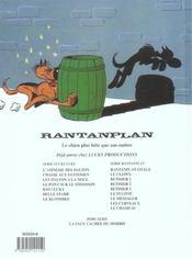 Rantanplan t.11 ; le chameau - 4ème de couverture - Format classique