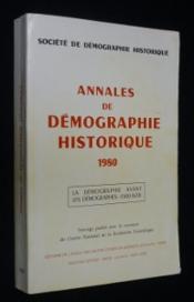 Annales de démographie historique 1980 - Couverture - Format classique