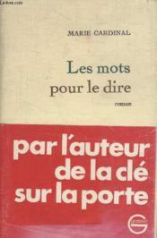 Les Mots Pour Te Dire. - Couverture - Format classique