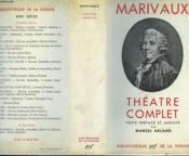 Theatre Complet. Collection : Bibliotheque De La Pleiade N° 79 - Couverture - Format classique