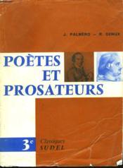 POETES ET PROSATEURS. 3e. - Couverture - Format classique
