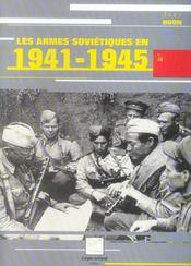 Les Armes Sovietiques En 1941-1945 - Intérieur - Format classique