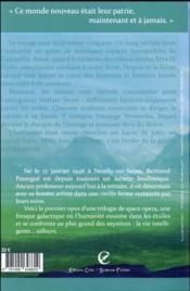 Nouveau monde ; le dieu delta - 4ème de couverture - Format classique