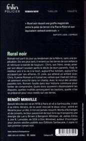 Rural noir - 4ème de couverture - Format classique
