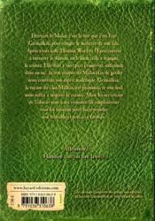L'épouvanteur T.9 ; Grimalkin et l'épouvanteur - 4ème de couverture - Format classique