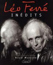 Léo ferré ; inédit - Intérieur - Format classique