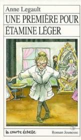 Une Premiere Pour Etamine Meger - Couverture - Format classique