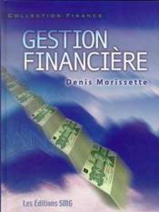 Gestion financiere (avec cd-rom) - Couverture - Format classique