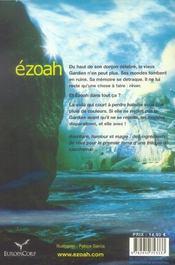 Le cycle d'ezoah t.1 ; ezoah - 4ème de couverture - Format classique