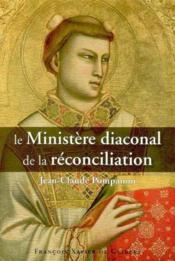 Ministere diaconal de la reconciliation - Couverture - Format classique