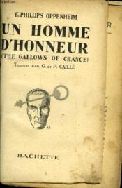 Un Homme D'Honneur - The Gallows Of Chance - Couverture - Format classique