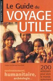 Guide Du Voyage Utile 2000 - Intérieur - Format classique