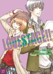 Love stage !! T.6 - Couverture - Format classique