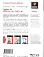 Tout sur les réseaux et Internet (5e édition) - 4ème de couverture - Format classique