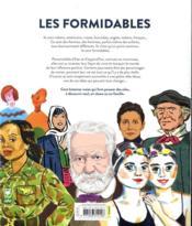 Les formidables ; cent histoires vraies qui donnent des ailes - 4ème de couverture - Format classique