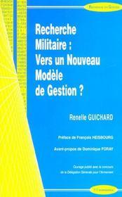 Recherche Militaire - Intérieur - Format classique