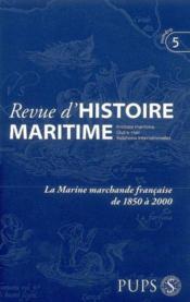 Revue D Histoire Maritime 5 - Couverture - Format classique