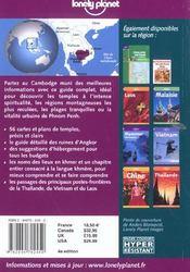 Cambodge ; 4e Edition - 4ème de couverture - Format classique