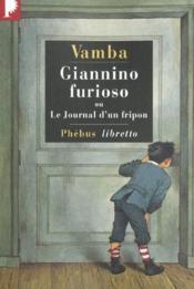 Giannino Furioso ou le journal d'un fripon - Couverture - Format classique