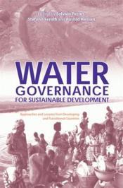 Water governance for sustainable development - Couverture - Format classique