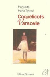 Coquelicots Varsovie - Couverture - Format classique
