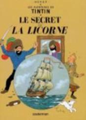 Les aventures de Tintin T.11 ; le secret de la licorne - Couverture - Format classique