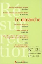 Revue résurrection N.134 ; le dimanche - Couverture - Format classique