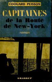 Capitaines De La Route De New York. - Couverture - Format classique