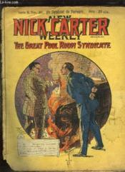 Nick Carter N° 30 Serie Ii. Un Syndicat De Parieurs. - Couverture - Format classique