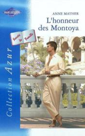 L'honneur des Montoya - Couverture - Format classique