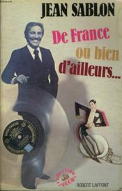De France Ou Bien D'Ailleurs. - Couverture - Format classique