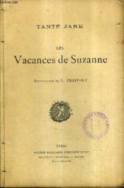 Les Vacances De Suzanne. - Couverture - Format classique