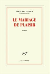 Le mariage de plaisir - Couverture - Format classique