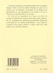 Prolegomenes - 4ème de couverture - Format classique