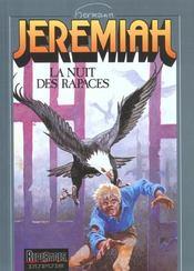 Jeremiah T.1 ; la nuit des rapaces - Intérieur - Format classique