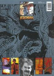 Jeremiah T.1 ; la nuit des rapaces - 4ème de couverture - Format classique