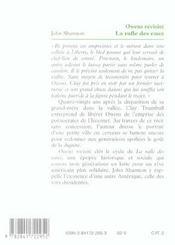 La Rafle Des Eaux ; Owens Revisite - 4ème de couverture - Format classique