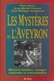 Mysteres De L Aveyron - Couverture - Format classique