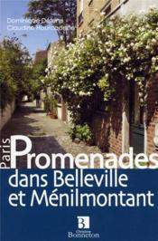 Promenades dans Belleville et Ménilmontant - Couverture - Format classique