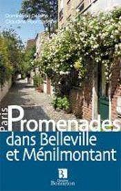 Promenades dans Belleville et Ménilmontant - Intérieur - Format classique